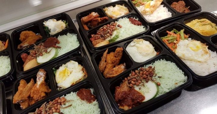 Halal Bento Food